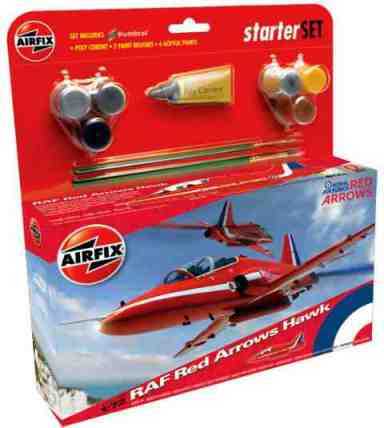 airfix red arrows starter set